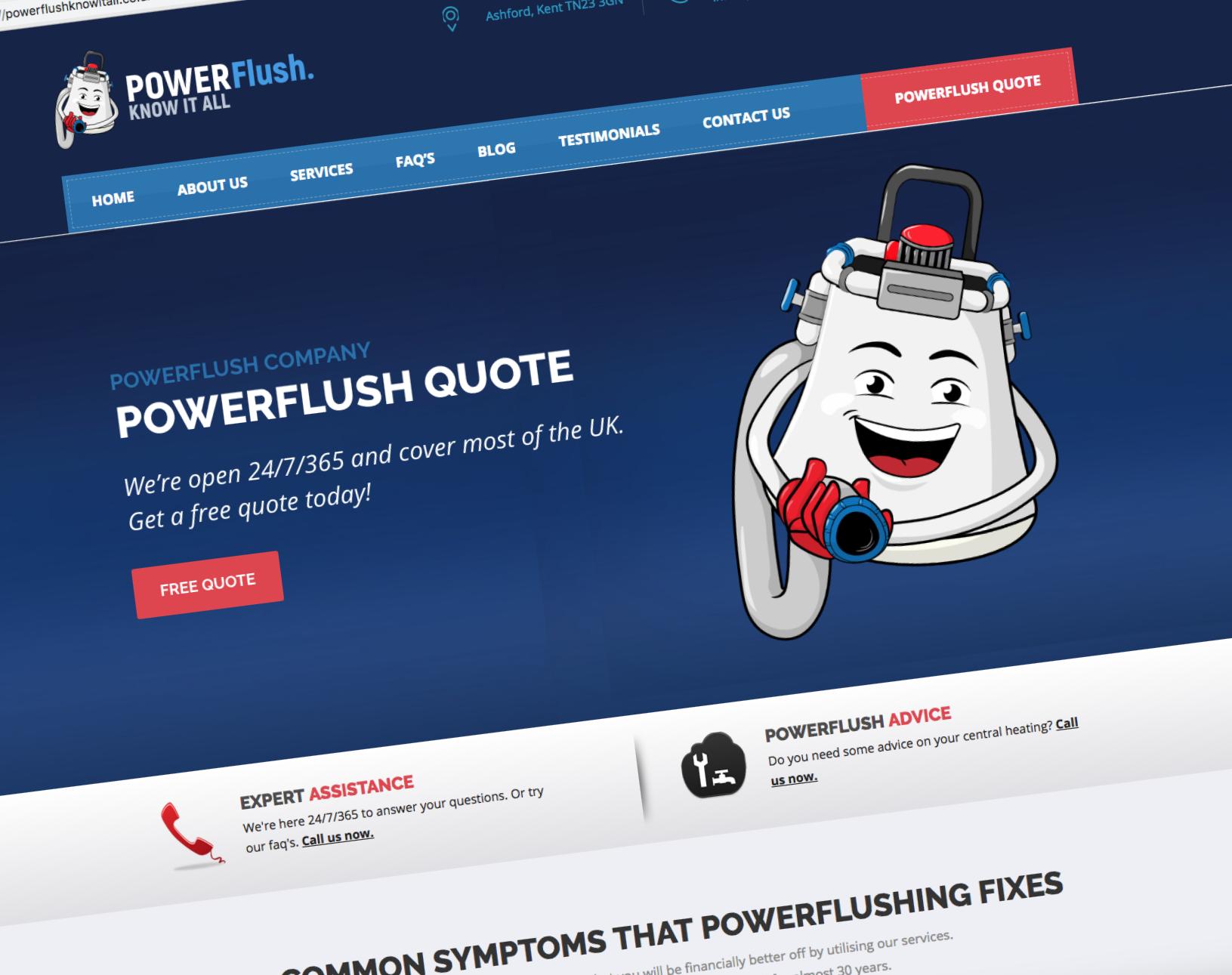 Constant Casting - Web Design & Digital Marketing Company Romney